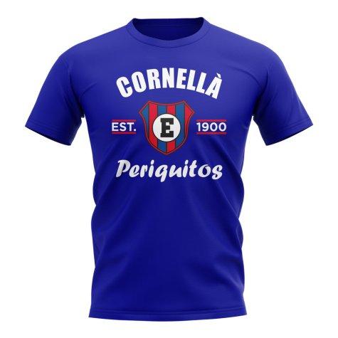 Espanyol Established Football T-Shirt (Royal)