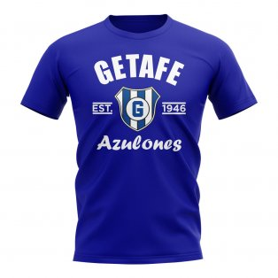 Getafe Established Football T-Shirt (Royal)