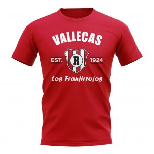 Rayo Vallecano Established Football T-Shirt (Red)