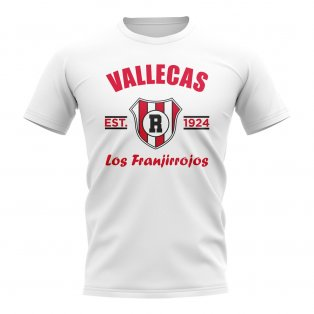 Rayo Vallecano Established Football T-Shirt (White)