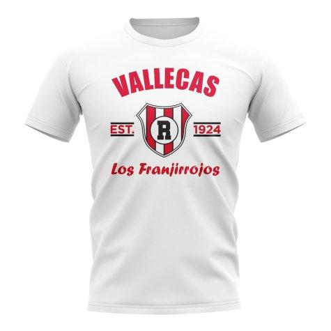 Rayo Vallecano Established Football T-Shirt (White)