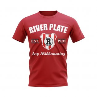 River Plate Established Football T-Shirt (Red)