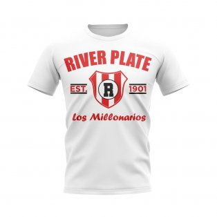River Plate Established Football T-Shirt (White)