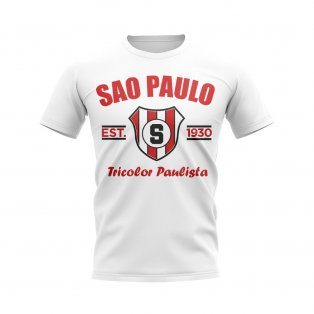 Sao Paolo Established Football T-Shirt (White)
