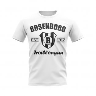 Rosenborg Established Football T-Shirt (White)