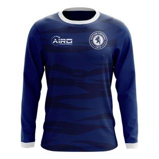 2020-2021 Scotland Long Sleeve Home Concept Football Shirt