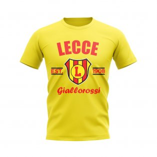 Lecce Established Football T-Shirt (Yellow)