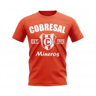Cobresal Established Football T-Shirt (Orange)