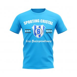 Sporting Cristal Established Football T-Shirt (Sky Blue)