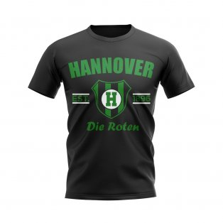 Hannover Established Football T-Shirt (Black)