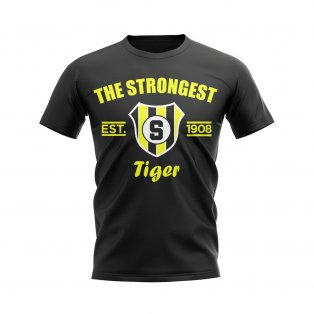 The Strongest Established Football T-Shirt (Black)