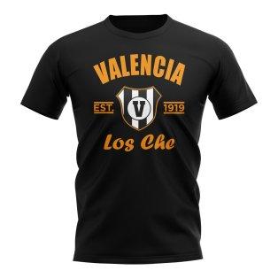 Valencia Established Football T-Shirt (Black)