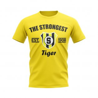 The Strongest Established Football T-Shirt (Yellow)