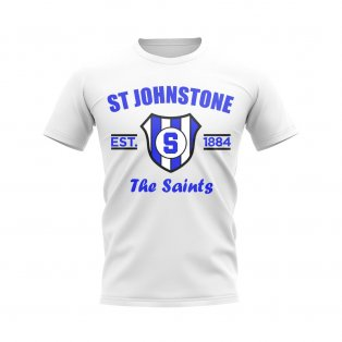 St Johnstone Established Football T-Shirt (White)