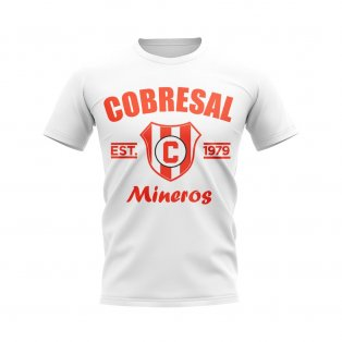 Cobresal Established Football T-Shirt (White)