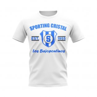 Sporting Cristal Established Football T-Shirt (White)