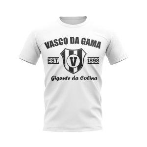 Vasco da Gama Established Football T-Shirt (White)