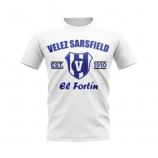 Velez Sarsfield Established Football T-Shirt (White)