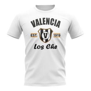 Valencia Established Football T-Shirt (White)