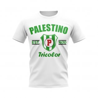 Palestino Established Football T-Shirt (White)