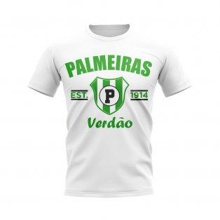Palmeiras Established Football T-Shirt (White)