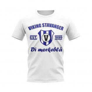 Viking Stavanger Established Football T-Shirt (White)