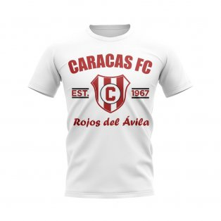 Caracas Established Football T-Shirt (White)