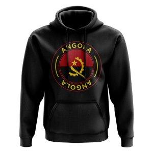 Angola Football Badge Hoodie (Black)
