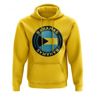 Bahamas Football Badge Hoodie (Yellow)