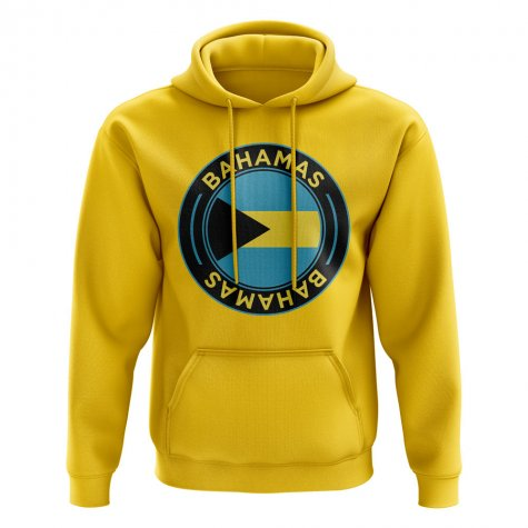 Bahamas Football Badge Hoodie (Yellow)