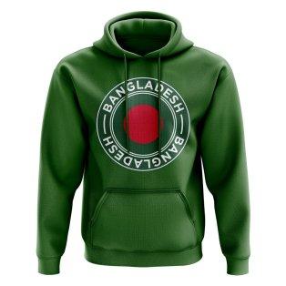 Bangladesh Football Badge Hoodie (Green)