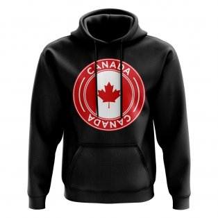 Canada Football Badge Hoodie (Black)