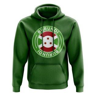 Burundi Football Badge Hoodie (Green)