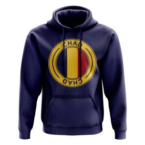 Chad Football Badge Hoodie (Navy)