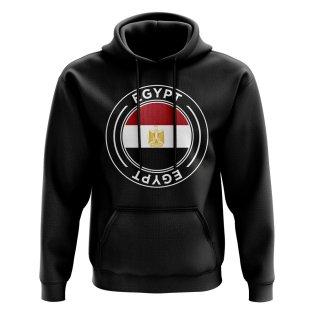 Egypt Football Badge Hoodie (Black)