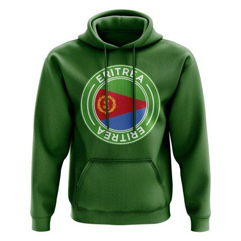 Eritrea Football Badge Hoodie (Green)