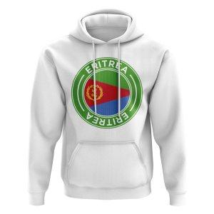Eritrea Football Badge Hoodie (White)