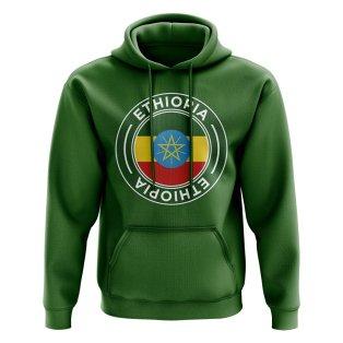 Ethiopia Football Badge Hoodie (Green)