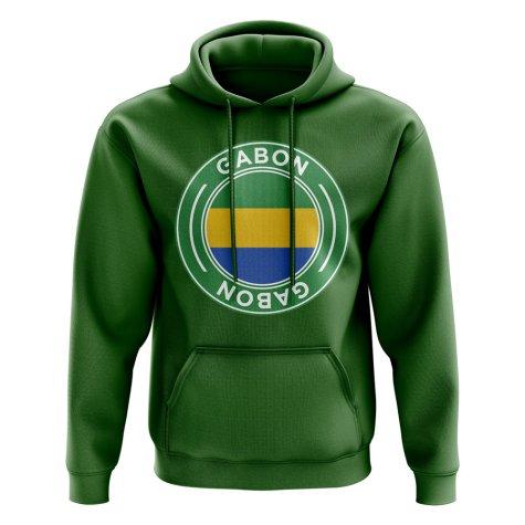 Gabon Football Badge Hoodie (Green)