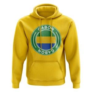 Gabon Football Badge Hoodie (Yellow)