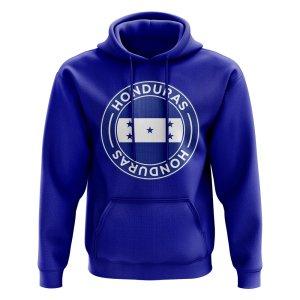 Honduras Football Badge Hoodie (Royal)