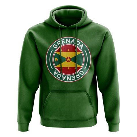 Grenada Football Badge Hoodie (Green)