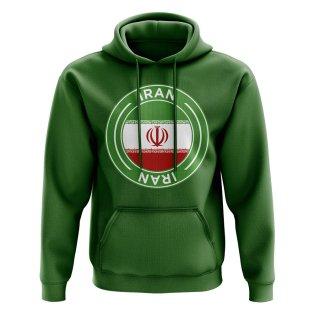 Iran Football Badge Hoodie (Green)