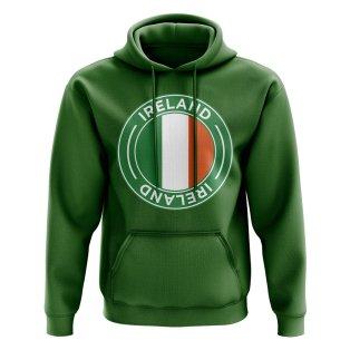 Ireland Football Badge Hoodie (Green)
