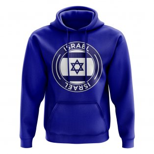 Israel Football Badge Hoodie (Royal)