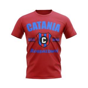 Catania Established Football T-Shirt (Red)