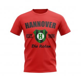Hannover Established Football T-Shirt (Red)