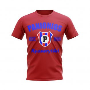 Panionios Established Football T-Shirt (Red)
