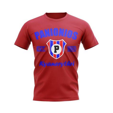 Panionios Established Football T-Shirt (Red)
