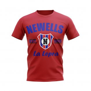 Newells Old Boys Established Football T-Shirt (Red)